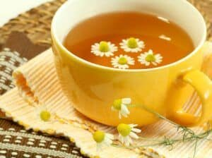 best teas for stress relief   chamomile